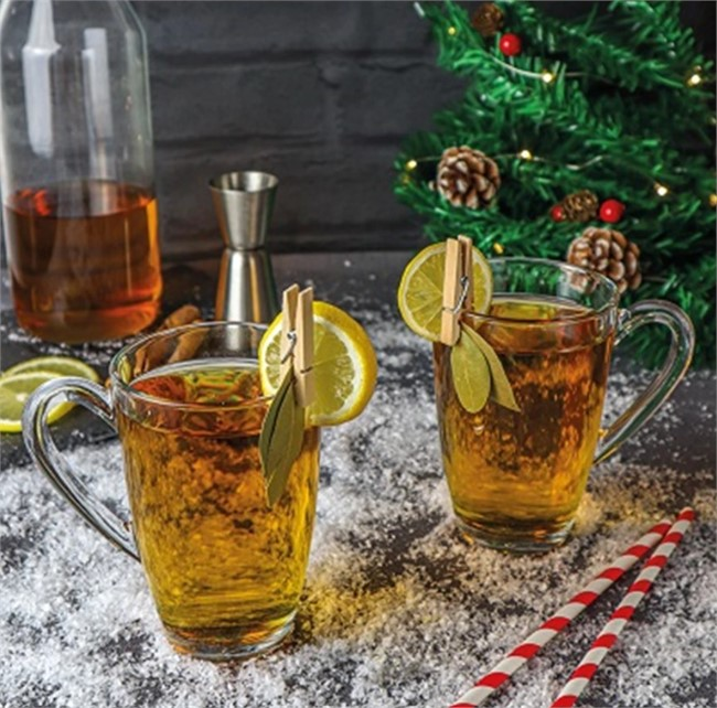 Warming Mulled Gin