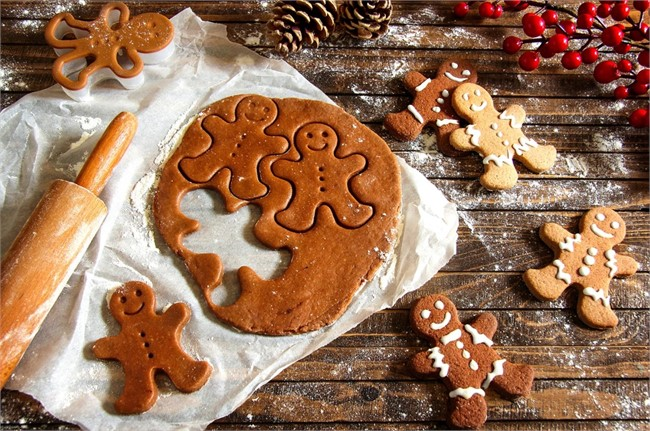 Christmas Gingerbread Men Recipe
