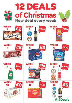 CJ Lang and Son Limited | General | SPAR WITH '12 DEALS OF CHRISTMAS'