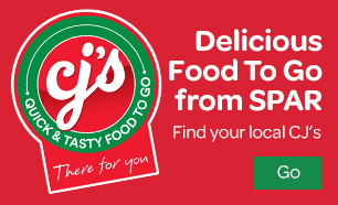Delicious Food To Go from SPAR. Find your local CJ's.